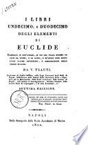 Corso di geometria elementare, e sublime ad uso della pubblica istruzione del Regno, e della Reale Accademia di Marina. Diviso in quattro volumi. Volume 1.[-4.]