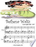 Bethena Waltz - Beginner Tots Piano Sheet Music