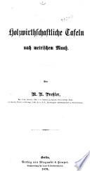 Lehrbuch der Holzmesskunst