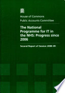 The National Programme for IT in the NHS Deployment Of Systems In An