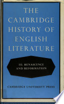 The Cambridge History of English Literature