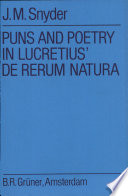Puns and Poetry in Lucretius  De Rerum Natura