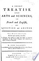 A Short Treatise Upon Arts and Sciences