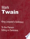 King Leopold S Soliloquy book