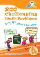 200 Challenging Math Problems Every 4th Grader Should Know