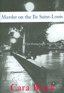 Murder on the Ile Saint-Louis Midst Of Murder And Corruption