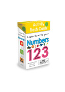 Wipe Clean  Activity Flash Cards Numbers