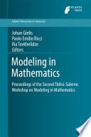 Modeling in Mathematics