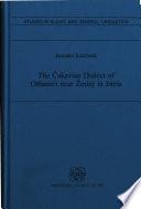 The   akavian Dialect of Orbani  i Near   minj in Istria