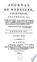 Journal de médecine, de chirurgie et de pharmacie