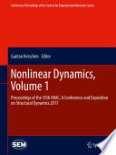 Nonlinear Dynamics  Volume 1