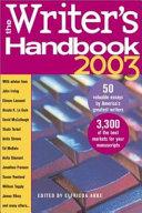 The Writer s Handbook 2003
