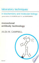 Monoclonal Antibody Technology The Production And Characterization Of Rodent And Human Hybridomas