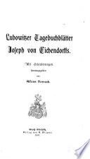 Lubowitzer Tagebuchbl  tter Joseph von Eichendorffs