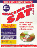 Cracking the SAT   PSAT  with sample tests on CD ROM