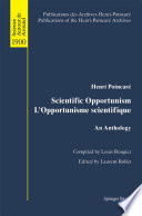 illustration du livre Scientific Opportunism L'Opportunisme scientifique