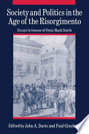 Society and Politics in the Age of the Risorgimento