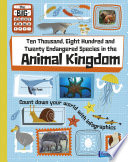 Ten Thousand  Eight Hundred and Twenty Endangered Species in the Animal Kingdom