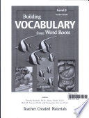 Building Vocabulary  Grade 5  Kit eBook