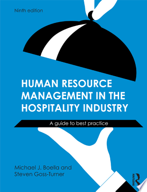Human Resource Management in the Hospitality Industry: A Guide to Best Practice - ISBN:9781136214738