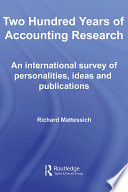 Two Hundred Years of Accounting Research