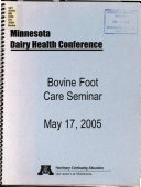 Minnesota Dairy Health Conference