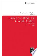 Early Education In A Global Context