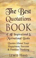 The Best Quotations Book of All Motivational & Inspirational Books