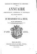 Annuaire administratif, commercial et industriel du Département de la Meuse