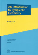 An Introduction to Symplectic Geometry