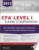 CFA Level I Exam Companion