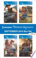Harlequin Western Romance September 2016 Box Set