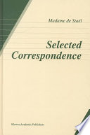 Selected Correspondence Historical Outlook Of The European
