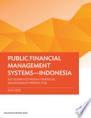 Public Financial Management Systems   Indonesia