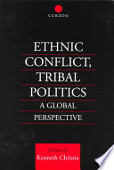 Ethnic Conflict  Tribal Politics