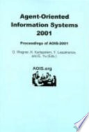 Agent Oriented Information Systems 2001