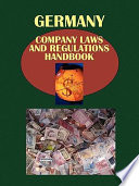 Germany Company Laws and Regulations Handbook