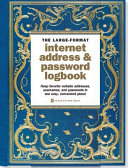 Celestial Large format Internet Address   Password Logbook