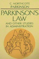 Parkinson S Law And Other Studies In Administration