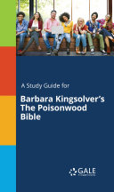 download ebook a study guide for barbara kingsolver\'s the poisonwood bible pdf epub