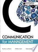 Communication for Management