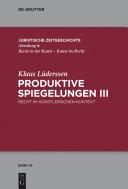 Produktive Spiegelungen III