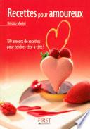 Petit livre de - Recettes pour amoureux