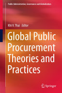 Global Public Procurement Theories and Practices
