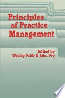 Principles of Practice Management