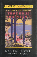 Reader s Companion to F  Scott Fitzgerald s Tender is the Night