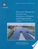 Planning the Management  Operation  and Maintenance of Irrigation and Drainage Systems