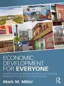 Economic Development for Everyone Book