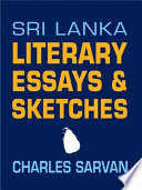 Sri Lanka Literary Essays   Sketches