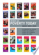 Action On Poverty Today Index To Issues 1 23 Spring 2003 Spring 2009